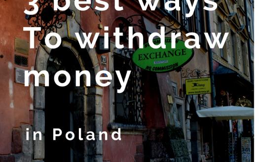 3 best ways to withdraw money in Poland