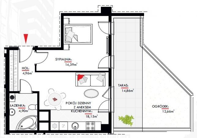 New 2 Room Apartment Ar Sikorskiego Street further Kitchen Layouts And Designs moreover Models additionally Amazing Grace Wall Decals besides 2013918647. on bedroom appliances